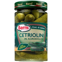 Berni cetriolini in agrodolce gr.310