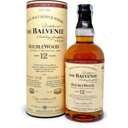 The balvenie whisky 12y doublewood cl.70
