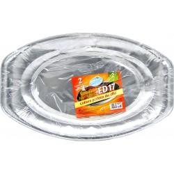 Soft Soft contenitori per forno ed17 vassoio pz.2