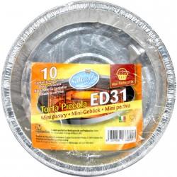 Soft soft contenitore per forno ed31 per torta pz.10
