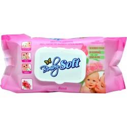 Soft Soft salviette bimby rosa pz.72