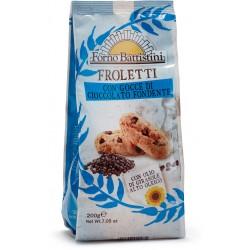 Forno Battistini froletti con gocce di cioccolato fondente gr.200