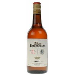 Barbancourt rum 3 stelle 4y cl.70