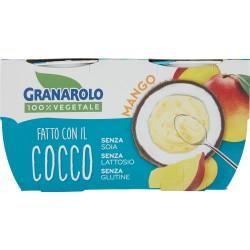 Granarolo 100% Vegetale Fatto con il Cocco Mango 2 x 125 gr.