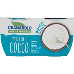 Granarolo 100% Vegetale Fatto con il Cocco Bianco Dolce 2 x 125 gr.
