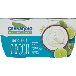 Granarolo 100% Vegetale Fatto con il Cocco Lime 2 x 125 gr.