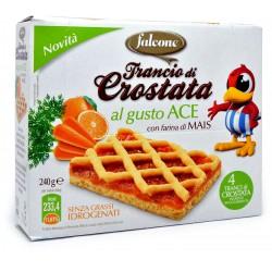 Falcone crostata di mais gusto ace gr.240