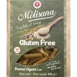la Molisana Gluten free Penne Rigate N°20 400 gr.