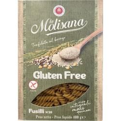 la Molisana Gluten free Fusilli N°28 400 gr.