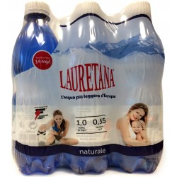 Lauretana acqua naturale cl.50x6