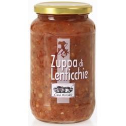 Casa Rinaldi zuppa lenticchie gr.550