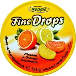 Woogie fine drops caramelle limone e arancio gr.175