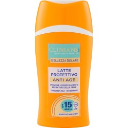 Clinians Bellezza Solare Latte Protettivo Anti Age SPF 15 Media 200 mL.