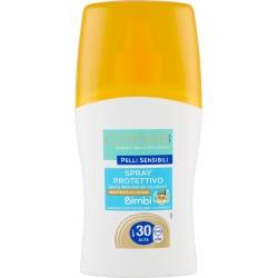 Clinians Pelli Sensibili Spray Protettivo Bimbi SPF 30 Alta 150 mL.