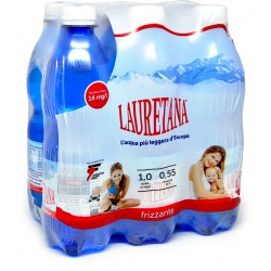 Lauretana acqua gas cl.50x6