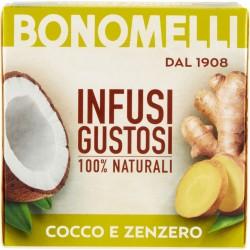 Bonomelli Infusi Speziali 100% Naturali Zenzero e Cocco 10 Filtri 20 gr.