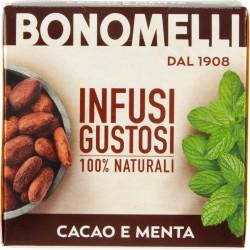 Bonomelli Infusi Speziali 100% Naturali Cacao e Menta 10 Filtri 20 gr.