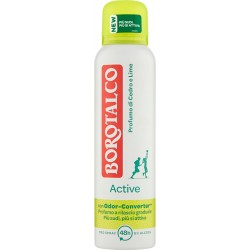 Borotalco Active Profumo di Cedro e Lime Deo Spray 0% Alcool 150 ml.