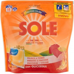 Sole Proteggi Colore con Glicerina 3 Azioni pz.15xgr.22