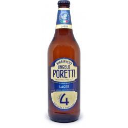 Poretti birra 4 luppoli lager cl.66