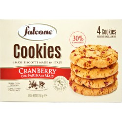 Falcone cookies mais e cranberry gr.50x4