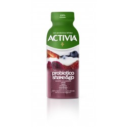 Activia probiotico shake&go mirtillo fragola melograno barbabietola semi di chia 250 gr.