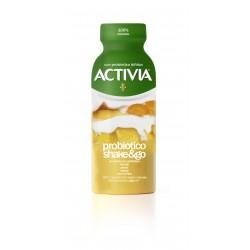 Activia probiotico shake&go mango pesca carota semi di lino 250 gr.