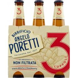 Birrificio Angelo Poretti Le Originali 3 Luppoli Non Filtrata 3 x 33 cl