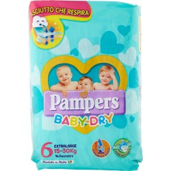 Pampers Baby-Dry XL x14