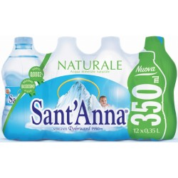 Sant'Anna acqua naturale ml.350 x 12