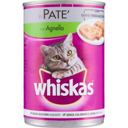 Whiskas in Patè con Agnello 400 gr.