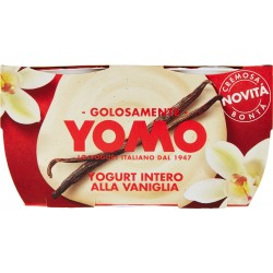 Yomo Yogurt Intero alla Vaniglia 2 x 125 gr.