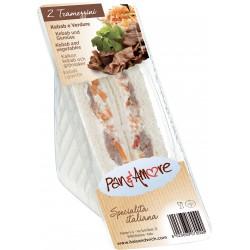 Tramezzino kebab e verdure gr.140
