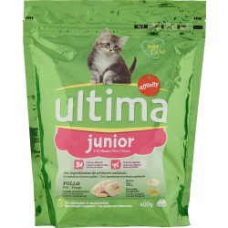 Ultima Cat junior Pollo 400 gr.