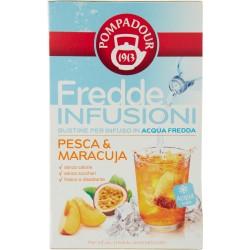 Pompadour Fredde Infusioni Pesca & Maracuja 18 x 2,5 gr.