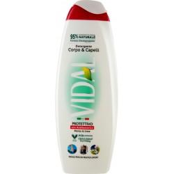 Vidal bagno corpo capelli antibatterico ml.500
