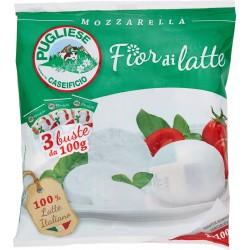 Caseificio Pugliese Fior di latte Mozzarella 3 x 100 gr.