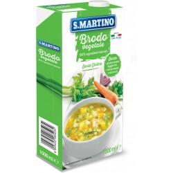 San Martino brodo vegetale brick lt.1