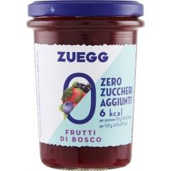 Zuegg Zero Zuccheri Aggiunti confettura ai Frutti di Bosco 220 gr.