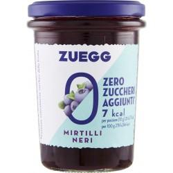 Zuegg Zero Zuccheri Aggiunti confettura ai Mirtilli Neri 220 gr.