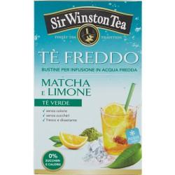Sir Winston Tea Tè Freddo Matcha e Limone 18 x 2,5 gr.