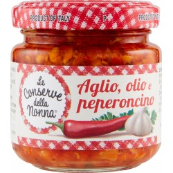Le Conserve della Nonna Aglio Olio e Peperoncino 95 g.