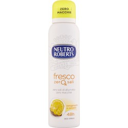 Neutro Roberts fresco zero% sali bergamotto e zenzero Deo Spray 150 ml