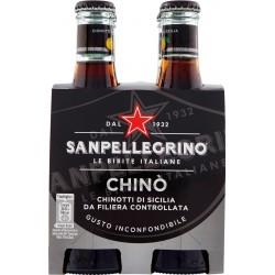 SANPELLEGRINO Bibite Gassate, CHINO' 20 cl x 4 (Vetro)