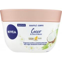Nivea Soufflé Corpo Cocco & Olio di Monoi Crema Olio 200 ml.