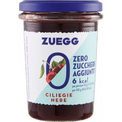 Zuegg Zero Zuccheri Aggiunti* Ciliegie Nere 220 gR.