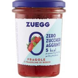 Zuegg Zero Zuccheri Aggiunti* Fragole e Fragoline di Bosco 220 gR.