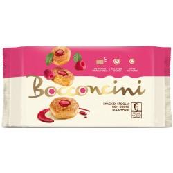 Pasticceria Matilde Vicenzi Millefoglie d'Italia Bocconcini Cuore di Lamponi 90 gr.