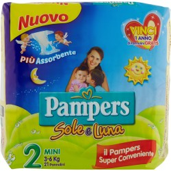 Pampers Sole e Luna Mini pz.21