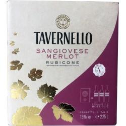 Tavernello bag sangiovese merlot lt.2,25